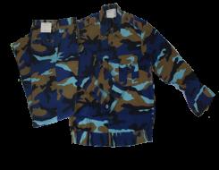 Quần áo vải gapeco loang